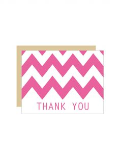 Striped Merci Thank You Cards  Printable Thank You Cards Wedding