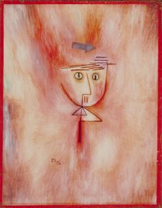 Artwork by Paul Klee, Fast getroffen (Nearly Hit), Made of painting; oil on board, 1928 Wassily Kandinsky, August Macke, Klimt, Franz Marc, Paul Klee Art, San Francisco Museums, Statues, Art Moderne, Modern Artists