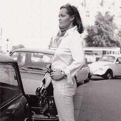 Romy photographed by Helga Kneidl