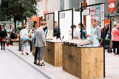 Pop-Up Market Stalls for Summer Sales — Quirky Group Kiosk Design, Bar Design, Coffee Shop Design, Booth Design, Store Design, Signage Design, Design Market, Food Stall Design, Food Kiosk