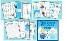 Get a FREE Frozen-Inspired Snow Princess Pack - Southern Savers