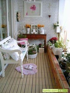 Czy to naprawde balkon? Zapiera dech w piersiach! #balcony #home #garden