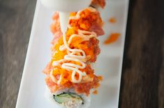volcano roll sushi recipe   use real butter