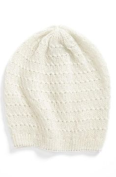 Cute Cable Knit Beanie for the kids.