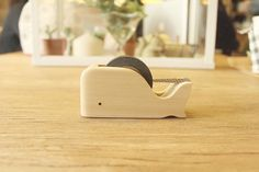 Animal Tape Dispenser por minkisloveonetsy