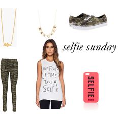 selfie and easter sunday by chaileemtchll on Polyvore featuring Local Celebrity, Boohoo, Vans, Gorjana and Monsoon