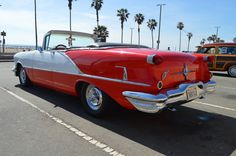 1956 Oldsmobile Rocket 88 Convertible VI by on DeviantArt Hot Rides, Huntington Beach, Convertible, Dads, Trucks, Deviantart, Vehicles, Photos, Fathers