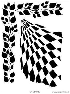 Dyan Reaveley - stencils