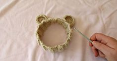 How Cute Is This Teddy Bear Headband?!? What A Great Beginners Project! | Starting Chain