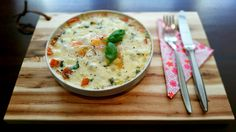 Gebakken eieren uit de oven met tomaat en mozzarella van Marije