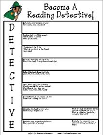 Common Core Classrooms: Reading Detectives - Non Fiction Graphic Organizer
