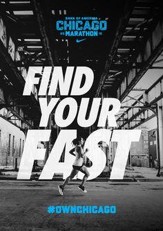 Chicago Marathon 15 - SouthSouthWest. Branding & design, Melbourne.