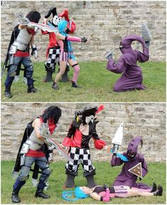 #Jinx #Jinxed #Sbire #Talon #Shaco #MangAzur #LeagueOfLegends  #SayukiCosplay #TsukiCosplay  #JeuxVideo #VideoGames #Cosplay