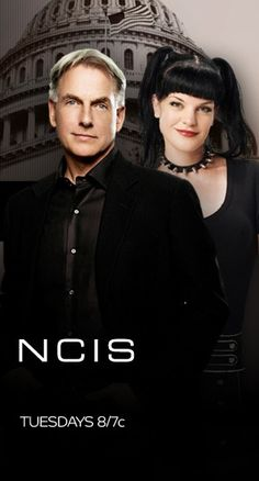 NCIS Gibbs & Abby My 2 favorite characters.