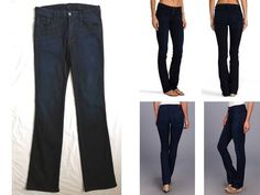 """7 FOR ALL MANKIND ~SECOND SKIN~ LUXE """"THE SKINNY BOOTCUT"""" ~STRETCH~ JEANS 189 31 #7ForAllMankind #BootCut"""