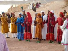 Nubian Egypt | Nubian Dancers at Abu Simbel Sunrise Festival