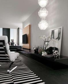 Modern Interior Black and White