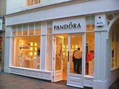 Shop window display - Pandora - Liverpool One | My Story. My Design. PANDORA.  | Pinterest | Shop window displays and Window displays