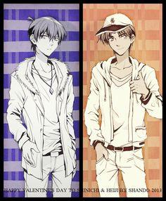 Shinichi & Heiji ~ (っ◔◡◔)っ ♥