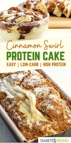 Healthy Cake Recipes, High Protein Recipes, Protein Snacks, Healthy Baking, Healthy Desserts, Low Carb Recipes, Baking Recipes, Healthy Fats, Comida Keto