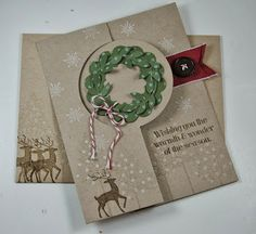 Laura's Works of Heart: WARMTH & WONDER CARD: