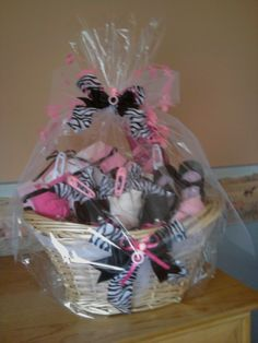 baby shower gift basket by Hailey Roberts