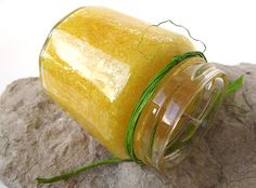 Hand Poured Daisy Yellow Scented Palm Wax Candle  by curiouscarrie, $8.00