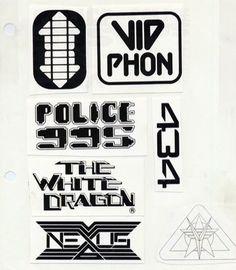 Blade Runner - Logos sketches