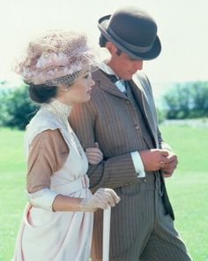 Somewhere In Time.  Filmed on Mackinac Island - released 1980.  Watched the filming of the gazebo scene while on our honeymoon, June 1979.