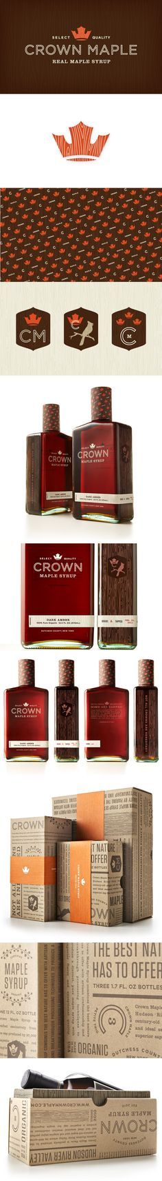 studio mpls | crown maple identity & packaging