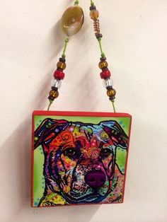 2014 DEAN RUSSO SIGNED LTD EDITION HOLIDAY ORNAMENT 309/1000. 1 of a kind dog #Miniature