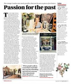 Passionate About Vintage in Retail Jeweller | Passionate About Vintage