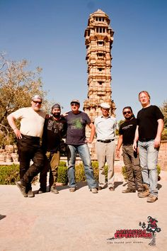 We ride by many historical sites on our Rajasthan moto trip, Chittorghar is one among.
