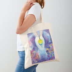 'Seeds of Existence' Tote Bag by Ria Rademeyer Printed Tote Bags, Cotton Tote Bags, Reusable Tote Bags, Large Bags, Small Bags, Buy Seeds, Medium Bags, Iphone Wallet, Sell Your Art