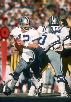 Roger Staubach in Super Bowl X