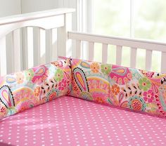 Pottery Barn Petite Paisley bedding set.  Of course they've stopped selling it...