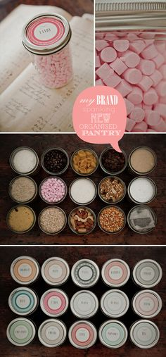 Pantry Organization and Printables