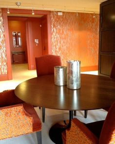 Custom Venetian plaster metallic finish. St. Regis Residence. Atlanta, GA Struttura www.struttura.us