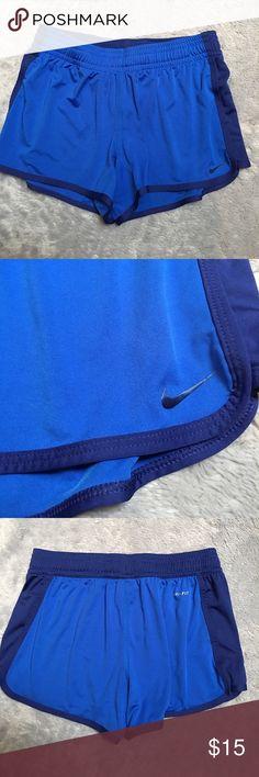 Nike Shorts Nike blue unlined shorts. Size small. Mint condition. ❌No Trades❌Proceeds go towards feeding the homeless❌ Nike Shorts