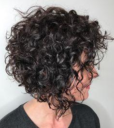 Curly+Slanted+Bob
