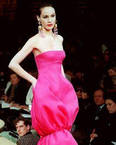 Yves Saint Laurent haute couture s/s 1993