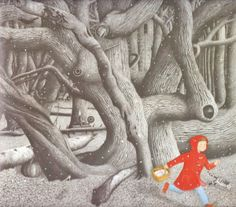 (UK) Into the Forest by Anthony Browne (1946-    ). United Kingdom.