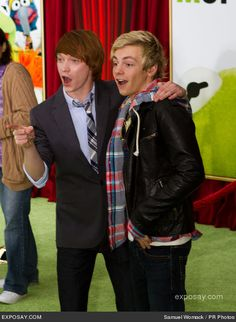 Ross Lynch and Calum Worthy | Image - Calum Worthy and Ross Lynch.jpg - Austin & Ally Wiki