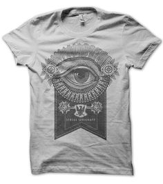 Image of Eye of the Beholder Tee (Lt Grey)
