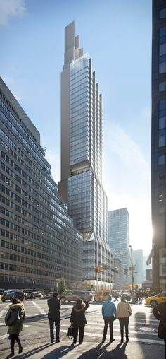 Construction work has begun on Foster + Partners' delayed New York tower at 425 Park Avenue.