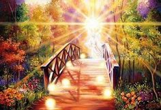 Rainbow Bridge Dog Heaven | the rainbow bridge just this side of heaven is a place called rainbow ...