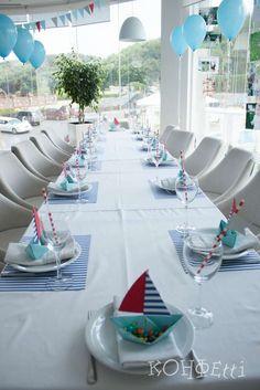 Nautical Birthday Party Ideas   Ideas para una Fiesta de Cumpleaños Náutica.