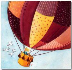 CARDOUAT La montgolfiere