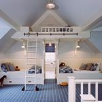 Barnes Vanze Architects - Residential and Commercial Interior Design Services for Washington DC, Virginia and Maryland...cool bunks