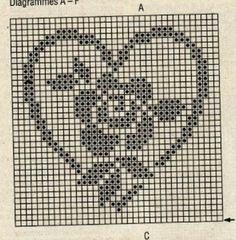 Picasa Web Albums – filet crochet chart The Effective Pictures We Offer You About Crochet Pattern stitches color combos A quality picture can tell you. Filet Crochet Charts, Crochet Diagram, Knitting Charts, Crochet Motif, Crochet Doilies, Crochet Yarn, Crochet Stitches, Crochet Coaster, Thread Crochet